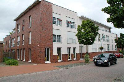 Zentral gelegene Eigentumswohnanlage mit einer Ladeneinheit in Osterholz-Scharmbeck, Bahnhofstr. 38