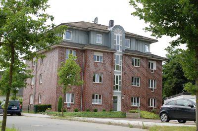 Eigentumswohnungen mit dunklem Verblendmauerwerk in Osterholz-Scharmbeck, Schubertring 2